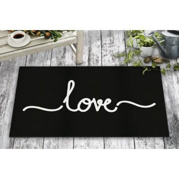 Love Tasarım Kapı Önü ve Ev İçi Paspas 45x75 cm