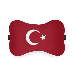 Türk Bayrağı Ortopedik Boyun Yastığı Silikon