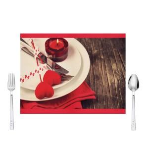Sevgililer Günü Tasarım Amerikan Servis 40x30 cm