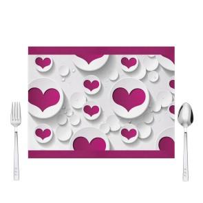Mor Kalpler Tasarım Amerikan Servis 40x30 cm