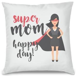 Super Mom Tasarım Kırlent Yastık 40x40 cm