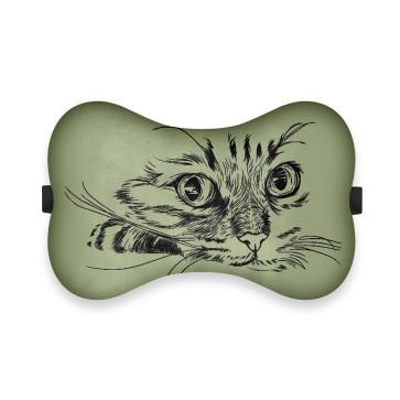 Kedi Silüet Tasarım Ortopedik Boyun Yastığı