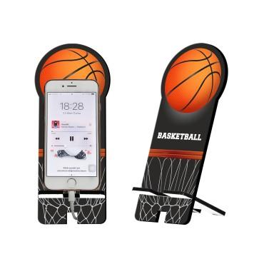 Basketbol Tasarım Ahşap Telefon Standı