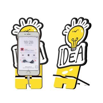 Idea Tasarım Ahşap Telefon Standı