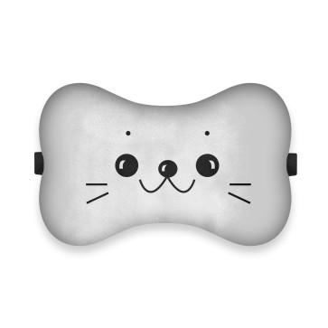 Sevimli Kedi Tasarım Ortopedik Boyun Yastığı