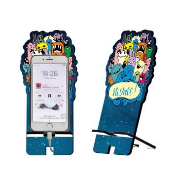 Anime Tasarım Ahşap Telefon Standı