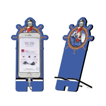 Dümen Tasarım Ahşap Telefon Standı