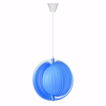 Luna Modern Sarkıt Lamba Mavi