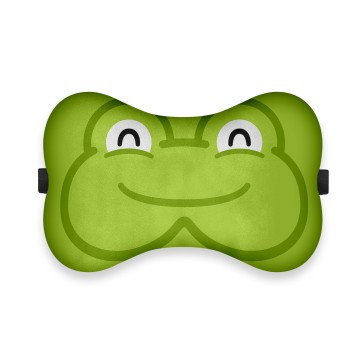 Kurbağa Tasarım Ortopedik Boyun Yastığı