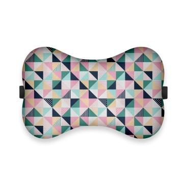 Geometrik Tasarım Ortopedik Boyun Yastığı