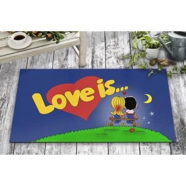 Love is Tasarım Kapı Önü ve Ev İçi Paspas 45x75 cm