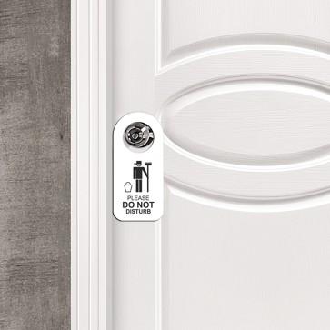 Do Not Disturb Tasarım MDF Uyarı Askısı Kapı ve Duvar Süsü