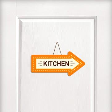 Kitchen Yönlendirme Tasarım MDF Kapı ve Duvar Süsü