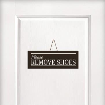 Remove Shoes Tasarım MDF Kapı ve Duvar Süsü