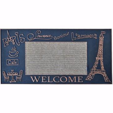 Paris Kapı Önü Paspas Halılı 40x80 cm Bronz