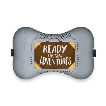 Ready for New Adventures Tasarım Ortopedik Boyun Yastığı