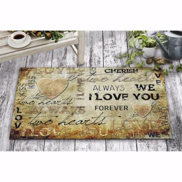Always Forever Tasarım Kapı Önü ve Ev İçi Paspas 45x75 cm