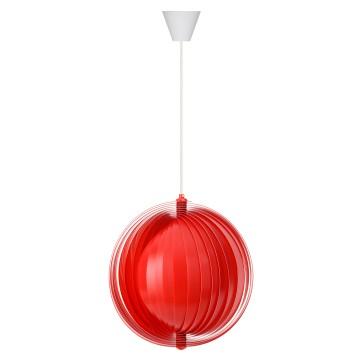 Luna Modern Sarkıt Lamba Kırmızı