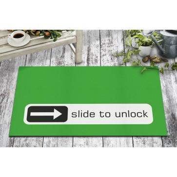 Unlock Tasarım Kapı Önü ve Ev İçi Paspas 45x75 cm