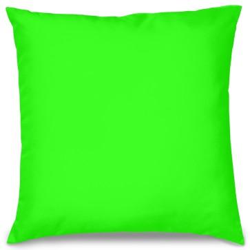 Neon Yeşil Tasarım Kırlent Yastık 40x40 cm
