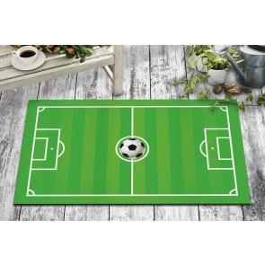 Futbol Tasarım Kapı Önü ve Ev İçi Paspas 45x75 cm