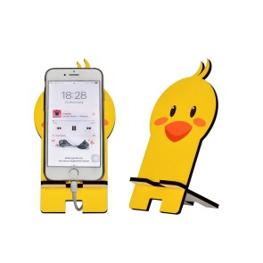 Civciv Tasarım Ahşap Telefon Standı