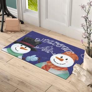 Noel Baba Tasarım Kapı Önü ve Ev İçi Paspas 45x75 cm