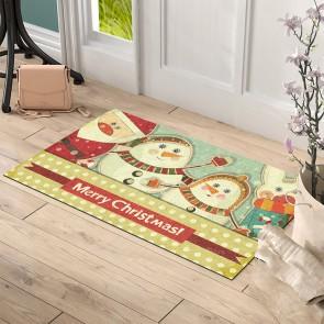 Merry Christmas Tasarım Kapı Önü ve Ev İçi Paspas 45x75 cm