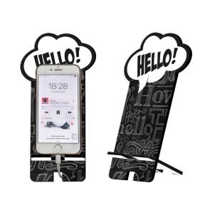 Hello Tasarım Ahşap Telefon Standı