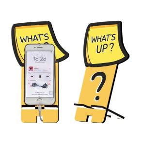 What's Up Tasarım Ahşap Telefon Standı