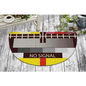 No Signal Tasarım Kapı Önü ve Ev İçi Paspas 40x70 cm Yarım Ay