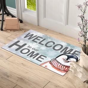 Mutlu Penguen Tasarım Kapı Önü ve Ev İçi Paspas 45x75 cm