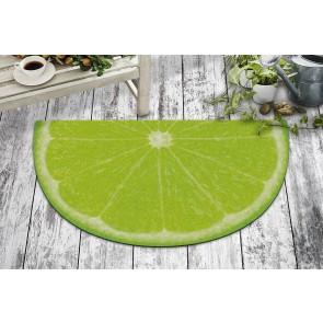 Yeşil Limon Tasarım Kapı Önü ve Ev İçi Paspas 40x70 cm Yarım Ay