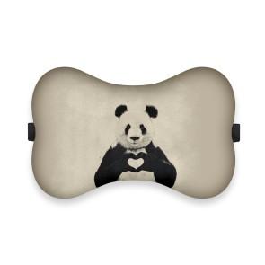 Panda Love Tasarım Ortopedik Boyun Yastığı