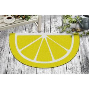 Limon Tasarım Kapı Önü ve Ev İçi Paspas 40x70 cm Yarım Ay