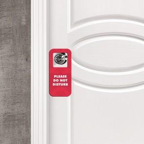 Please Do not Disturb Tasarım MDF Uyarı Askısı Kapı ve Duvar Süsü