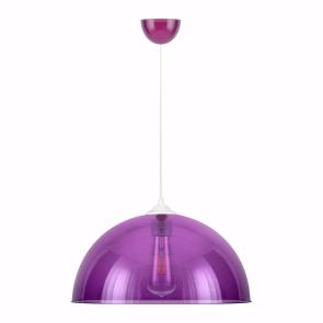 Dome Modern Sarkıt Lamba Mor