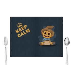 Keep Calm Halloween Tasarım Amerikan Servis 40x30 cm