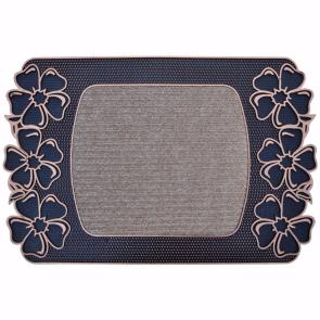 Papatya Kapı Önü Paspas Halılı 40x70 cm Bronz