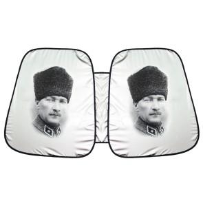 Kalpaklı Atatürk Oto Ön Cam Güneşliği