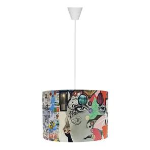 Panora Modern Sarkıt Lamba Kolaj