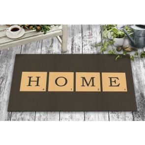 Scrabble Home Tasarım Kapı Önü ve Ev İçi Paspas 45x75 cm