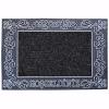 Saray Kapı Önü Paspas Halılı 45x70 cm Gümüş