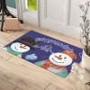 Noel Baba 1 Tasarım Kapı Önü ve Ev İçi Paspas 45x75 cm