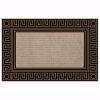 Elegance Kapı Önü Paspas Halılı 45x70 cm Bronz