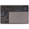 Bebek Kapı Önü Paspas Halılı 45x70 cm Bronz