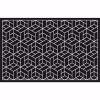 Cube Kapı Önü Paspas Halısız 45x70 cm Gümüş