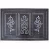 Art Kapı Önü Paspas Halısız 45x70 cm Gümüş