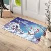 Kardan Adamlar Hoşgeldiniz Tasarım Kapı Önü ve Ev İçi Paspas 45x75 cm