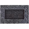 Patiler Kapı Önü Paspas 45x70 cm Gümüş